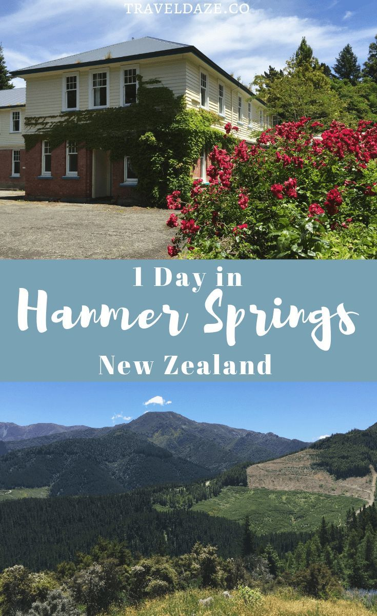 1 Day in Hanmer Springs, New Zealand: Enjoy the hot pools, the beautiful scenery, and the simple life in Hanmer Springs. This quick guide will show you how ...