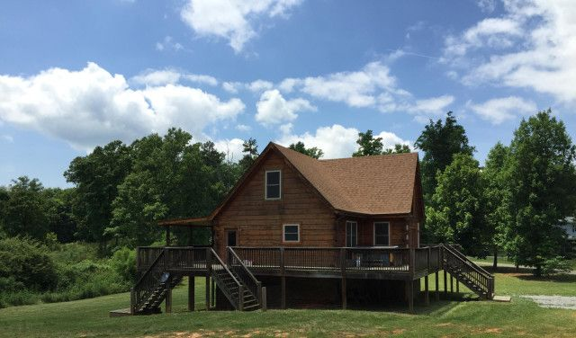 Jenkins Realty Reliance Group LLC - Office 423-253-6145 MOVE-IN READY  Gorgeous log home in Laurel Mt Lakes