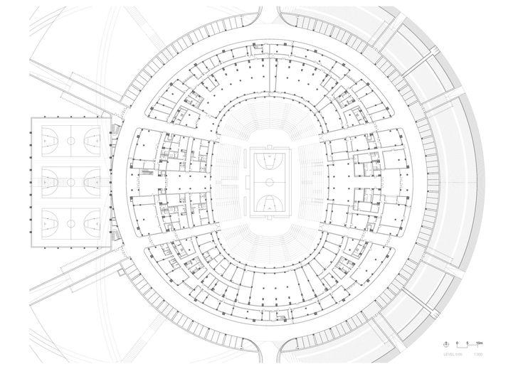 Gallery of Basketball Stadium in Dongguan / gmp architekten - 11