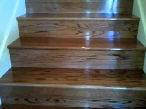 Best How To Install Laminate Flooring On Stairs Youtube 400 x 300