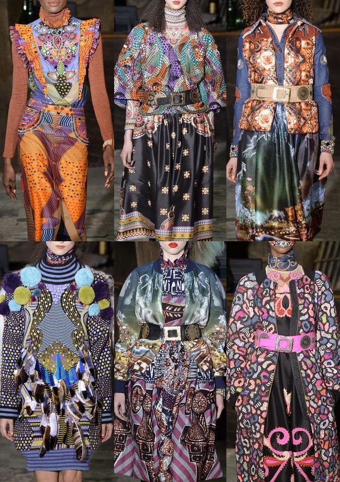 Paris Fashion Week Womenswear Print Highlights Part 1 – Autumn/Winter 2016/17