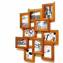 10のフォトフレームを無作為に並べ、立体感もあります。縦向き、横向きどちらも対応してます。フォトフレーム1つのサイズはL判(写真)です。 ✳︎サイズ 約縦48cm × 横58cm (画像1枚目参照) ✳︎上部に吊り金具が2個ついております。 ✳︎画像はサンプルです。1つ1つ、完全受注製作ですので写真とは多少のズレ木材特有の擦り傷やムラがある可能性があります。お許しください。配達希望時間の指定できます。(配達日は指定できません)・午前中(8時~12時)・12時~14時・14時~16時・16時~18時・18時~20時・20時~21時購入時、メッセージにて希望時間あればお願いいたします。何もなければ時間指定なしで配送いたします。