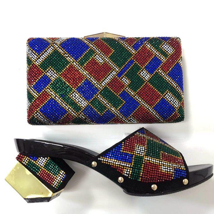 2017 mode Afrikanische Schuhe Italienische Sandale Und Tasche Set Für Party In Frauen Hochwertige Italienische Frauen Schuhe, die Beutel-set TH09 //Price: $US $63.64 & FREE Shipping //     #dazzup