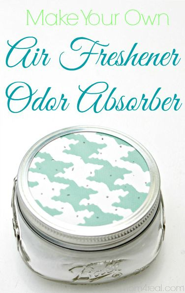 make your own odor absorber air freshener