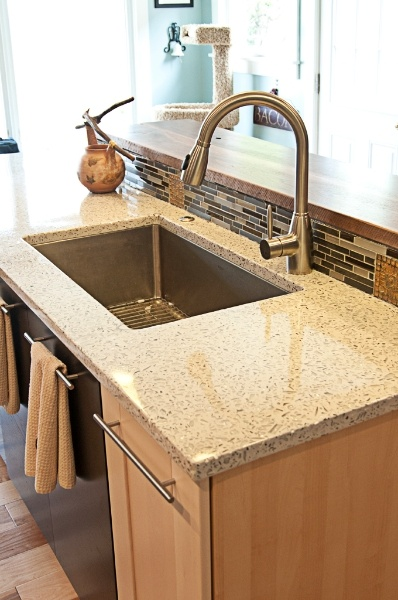 Delightful Kitchen Recycled Glass Countertops From Absolute Tile U0026 Stone... Http://