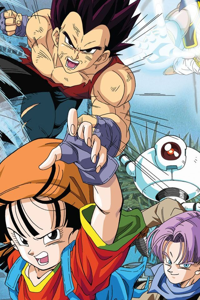 Vegeta, Pan, Trunks & Giru | Dragon Ball Grand Tour  #DBGT
