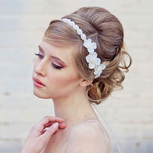 Acessórios de cabelo para noivas [60 fotos] « Dona Giraffa