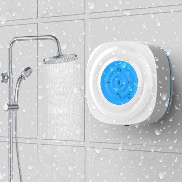Us 29 80 Wasserdichter Ipx4 Bluetooth Lautsprecher Mini Portable Wireless Hands Free Call Lautsprecher Badezimmer From Haus Und Garten On Banggood Com Bluetooth Lautsprecher Badezimmer Zubehor Kleine Lautsprecher