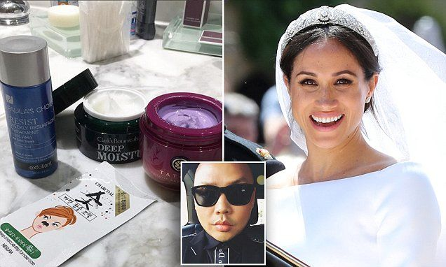 Meghan Markle S Make Up Artist Reveals His Ultimate Skincare Products Meghan Markle Skincare Skin Care Best Skincare Products