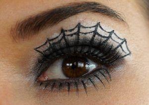 trucco-ragnatela Halloween Le Cicogne blog