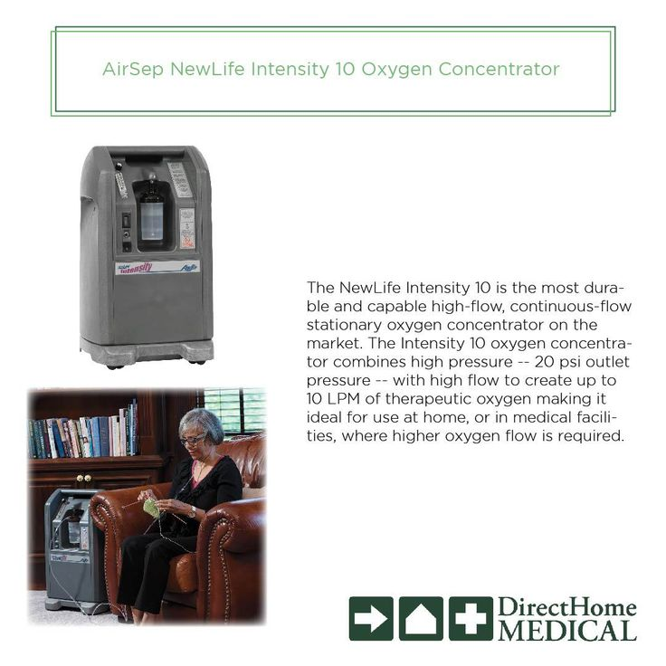 Airsep's NewLife Intensity 10 Oxygen Concentrator is a