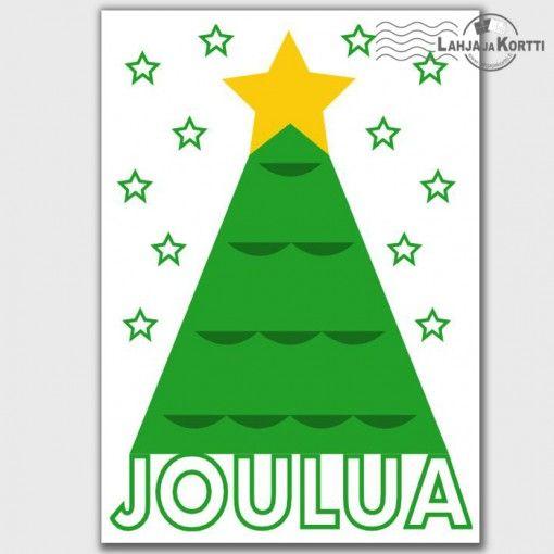 Joulukortti - Joulua joulukuusi