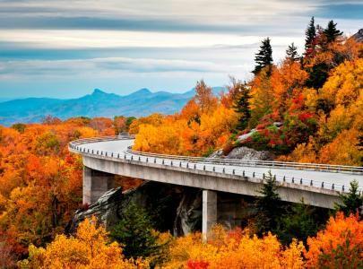 Blue Ridge Mountains North Carolina | Blue Ridge Parkway - North Carolina
