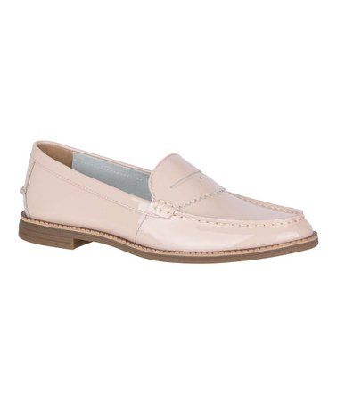 6dcf926de99 Rose Waypoint Leather Penny Loafer - Women  zulily  zulilyfinds