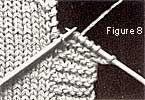 Les bordures au tricot - Les Bergers Cathares