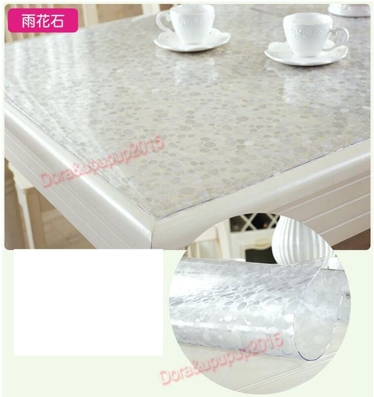 2.0Mm Pvc Placemat Washable Dinning Mat Waterproof Table Cloth Desk Mat Stone