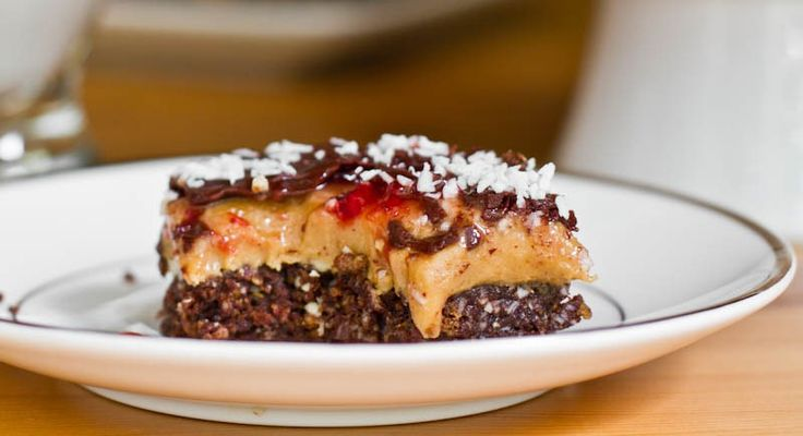 Peanut Butter and Jam Nanaimo Bars — Oh She Glows