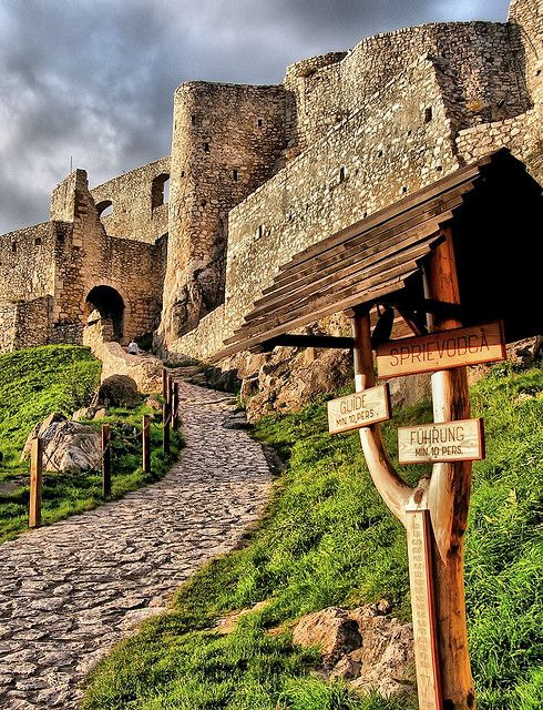 Spissky castle, Slovakia   - Explore the World with Travel Nerd Nici, one Country at a Time. http://TravelNerdNici.com