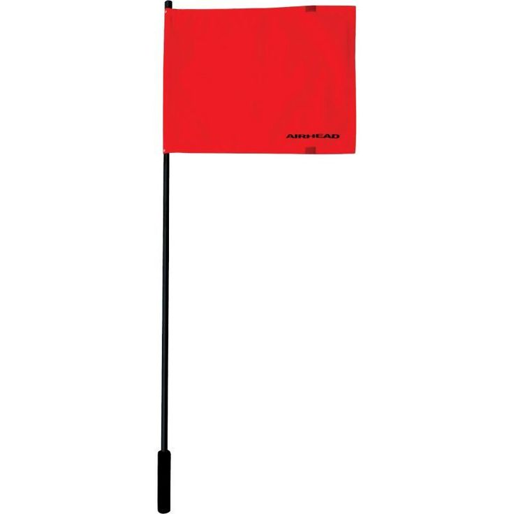 Airhead Deluxe Water Sports Flag, Red