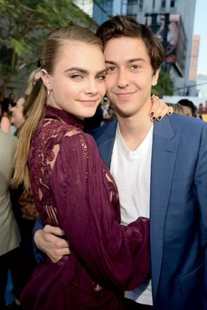 Cara Delevingne interview about Paper Towns, Nat Wolff and John Green @CaraDeleWorld