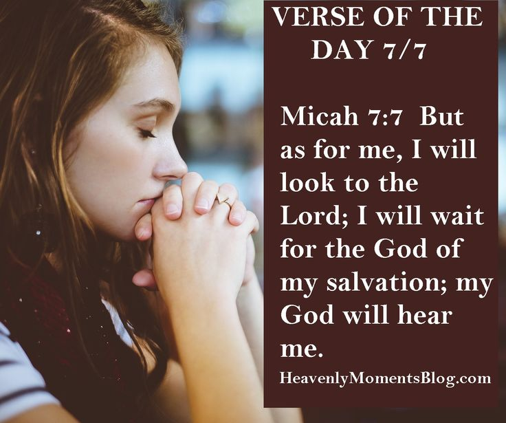 VERSE OF THE DAY 7/7  Micah 7:7  But as for me, I will look to the Lord; I will wait for the God of my salvation; my God will hear me.  #verseoftheday #verse #bibleverse #scripture #biblestudy #Christian #Christ #Jesus #JesusChrist #God #Lord #pray #micah
