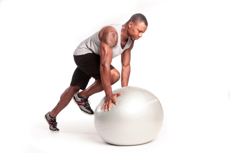 Stability Ball Mountain Climber #tommyeuropeabs #absandcore