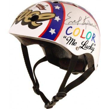 Kiddimoto Helmet Evel Knieval Medium