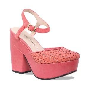 Chaos and Harmony - Starlet; we here at SWN have always considered coral a little underrated, but hopefully no longer with these wicked platforms, summer dressing never looked cuter, think of these as a grown up version of your dream shoes as a six-year old, but like, cooler (waaaay)