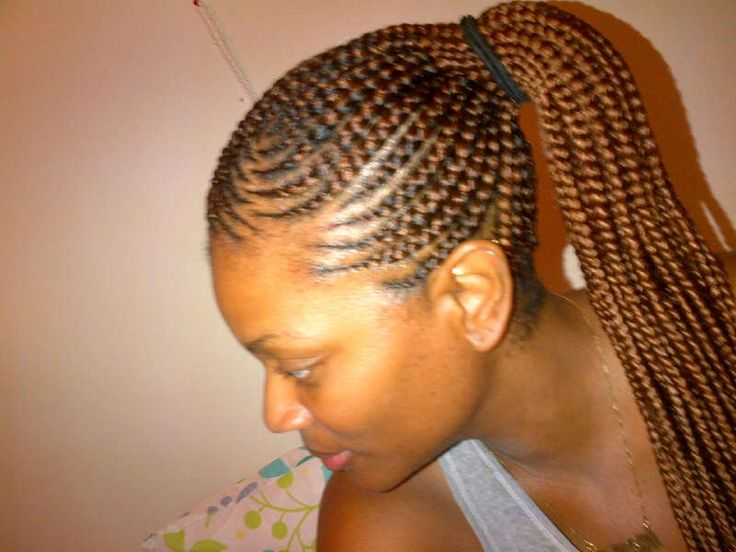 corn rolls hair style