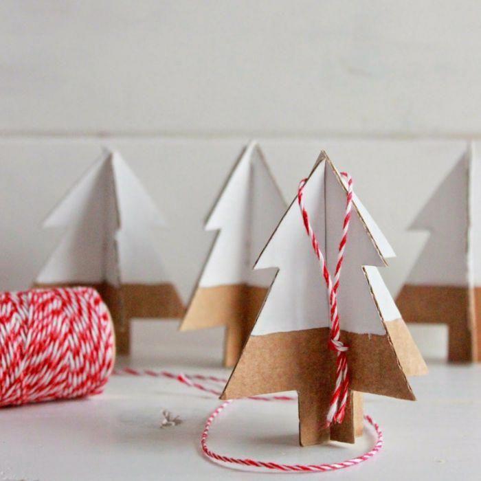 Idees De Fait Main Deco De Noel Fait Main En Carton