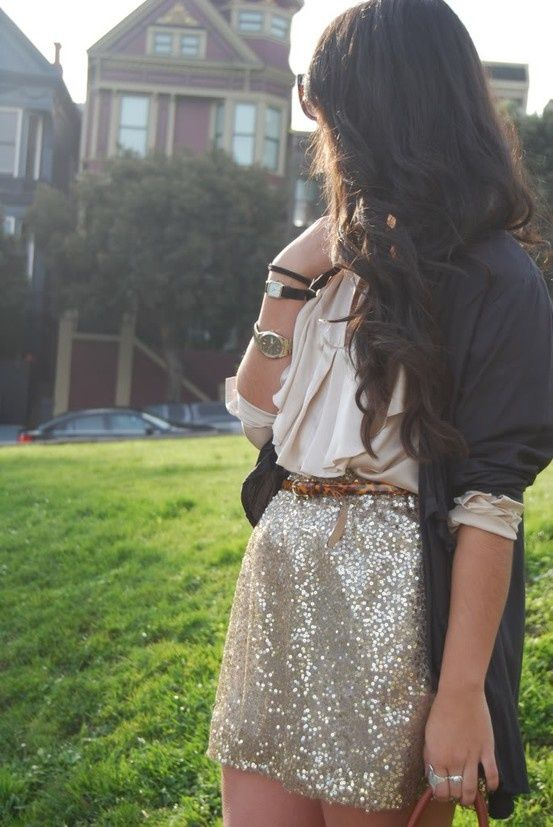 Charming Warm Weather Vintage Inspired Frocks Featuring: 17 Best Images About Sequin Mini Skirts On Pinterest