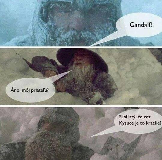 gandalf kysuce