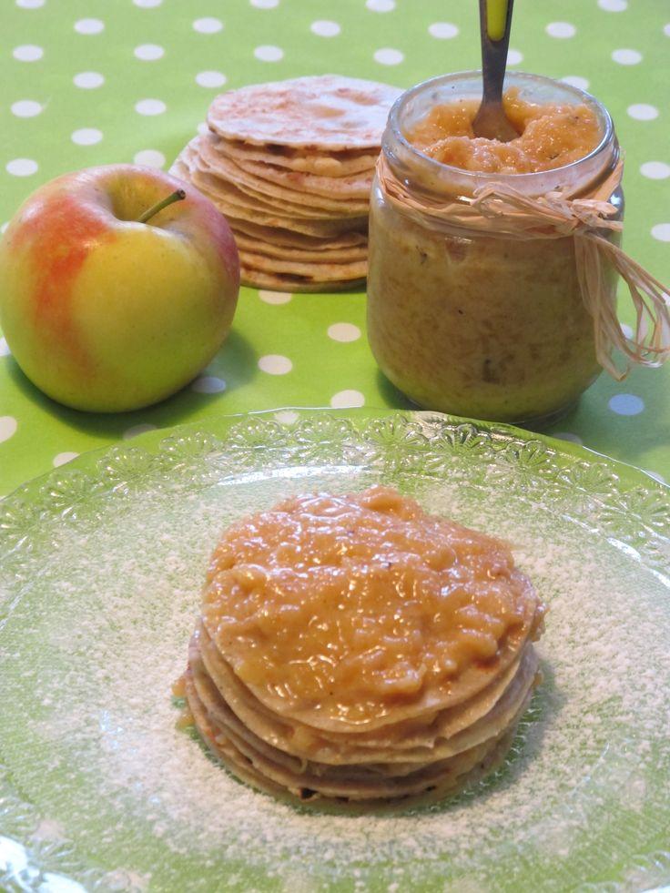 Gâteau de crêpes à l'Apple Curd avec des pommes Ariane les Naturianes® par Elo à la Bouche