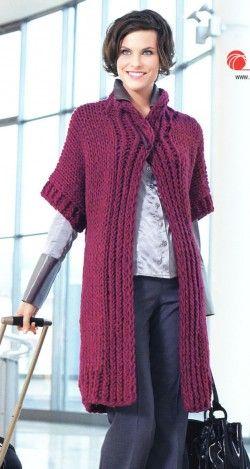 Пальто и кардиганы — Страница 2 — Мир вязания и рукоделия