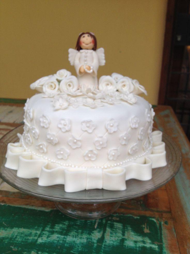 Bolo Para Primeira Comunh 227 O Cake E Sugar Pinterest