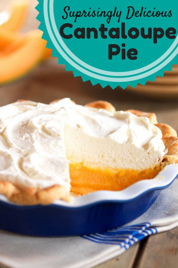 Cantaloupe Pie   Author: Kristl Story Recipe type: Dessert Serves: 2-5 Prep time: 2 hours Cook time: 10 mins Total time: 2 hours 10 mins Save Print   Beat the heat with this chilled cantaloupe pie that is tasty and easy to make. Cooked with sugar, butter, gelatin and almonds, this is the perfect dessert …