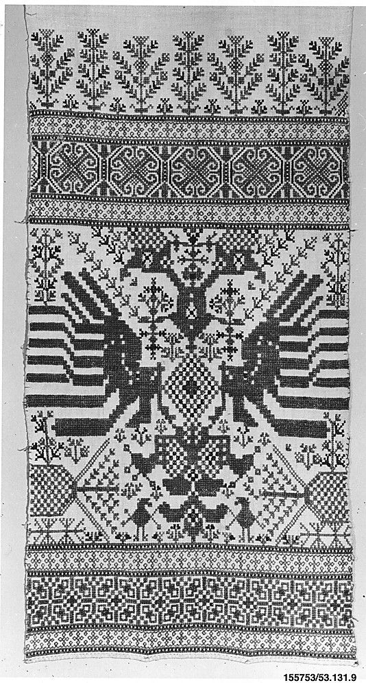 Towel - 18th century - Greek Islands or Sardinia