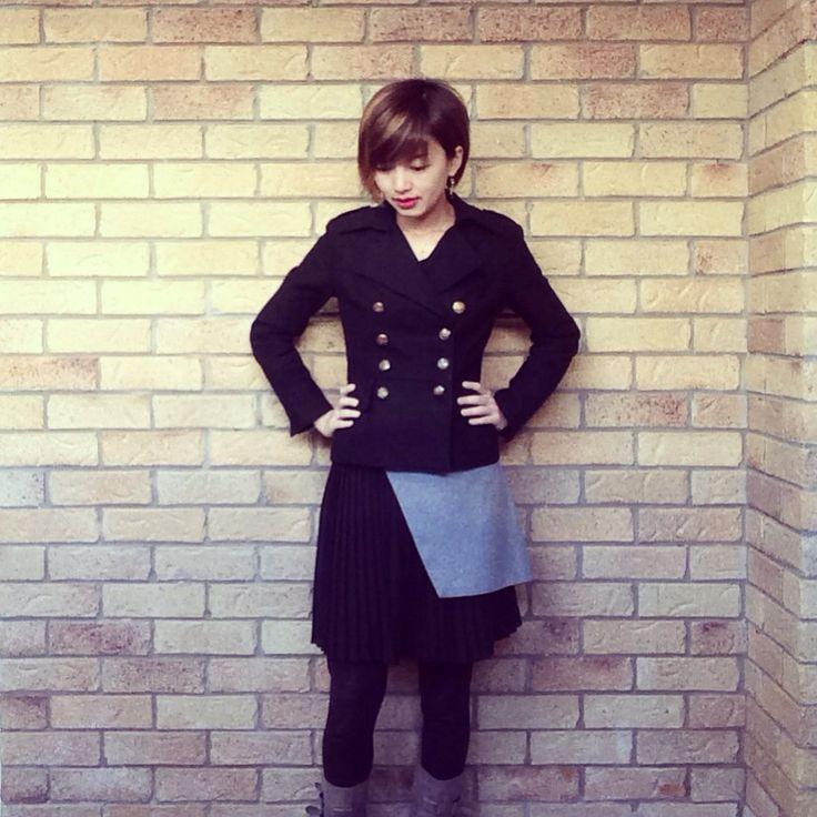 Today's look❤️ | skirt @cueclothingco | jacket #japanstyle | #winterlook #winterstyle #corporatechic #corporatestyle #thecueclub #ootd #fashionandfeline #asianfashionmodel #corporatefashion #corporatechic #workfashion #lookoftheday #fashiongram #时装 #おしゃれ #fashioninspo #workwear #cueclothingco #australianfashionlabels #australianfashionblogger #whatiwore #styleinspo #lookbook #fashionphotography #corporatewear