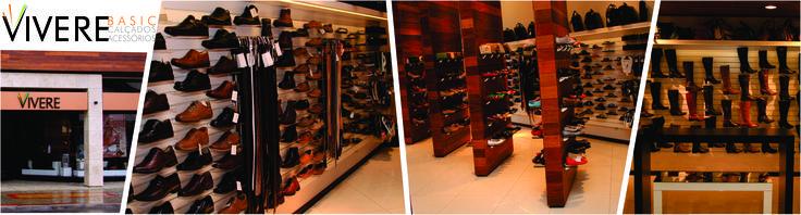 Você conhece a Vivere Store? Sabia que ela faz parte de um grupo de lojas físicas de Irati - PR? É isso aí, a Vivere Store comercializa os produtos de quatro lojas físicas, sendo uma delas a Vivere Basic. Com ambiente sofisticado e marcas de destaque no cenário da moda como Santa lolla, usaflex, Dakota, Freeway, Anatomis dentre outeas, seus produtos certamente vão lhe agradar. Venha conferir os modelos de calçados e acessórios em nosso site! #VivereStore #VivereBasic