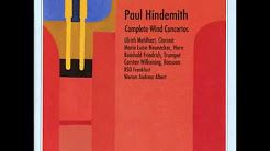 paul hindemith clarinet concerto - YouTube