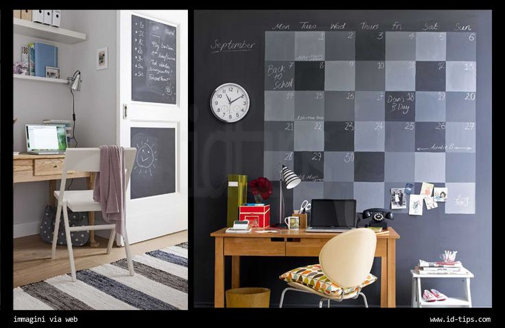 Oltre 20 migliori idee su pareti lavagna su pinterest - Parete lavagna arredamento ...