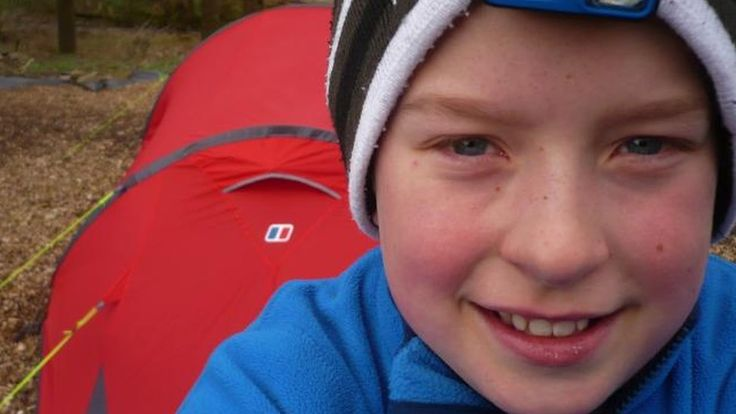 The 10-year-old from the Borders gave up his bedroom to spend 365 nights camping out in the garden.