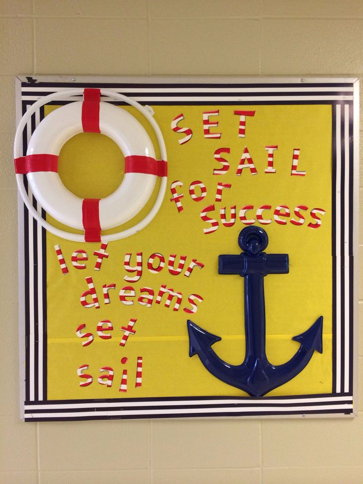 Anchor Classroom Decor ~ Best ideas about sailing bulletin board on pinterest