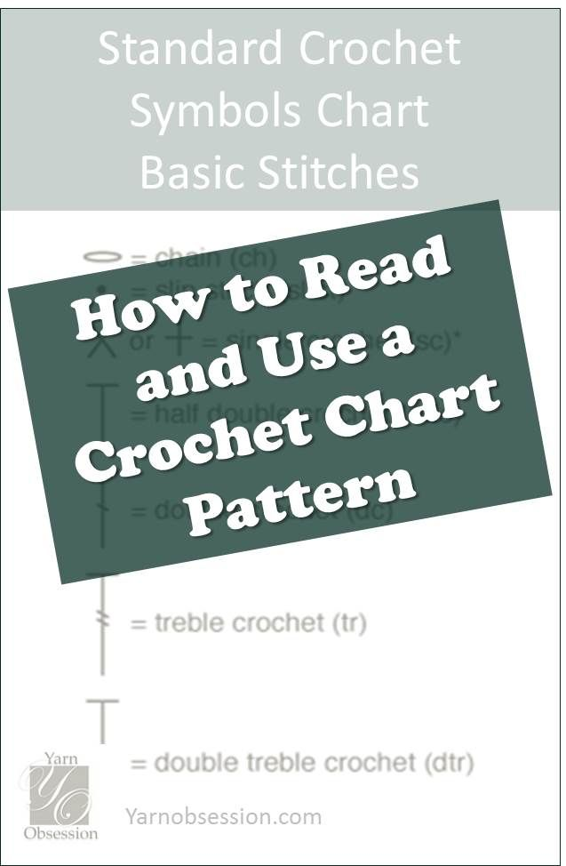 Learn the basics of how to read a crochet chart from this easy lesson part I in …