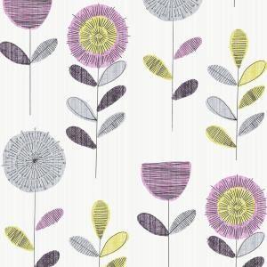 25 beautiful flower sketches ideas on pinterest flower - Floral wallpaper home depot ...