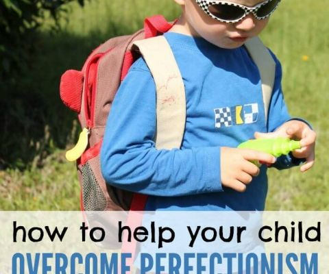 how to help yoru child overcome perfectionism
