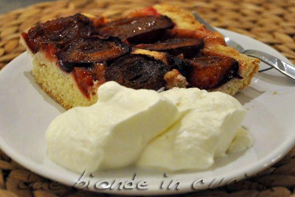 Due bionde in cucina: Crostata di Prugne
