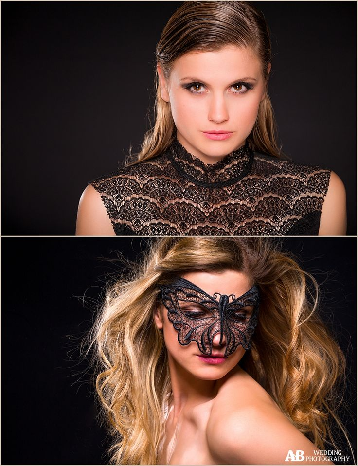 Edinburgh / Beauty shoot – the magic of great hair and make up, skillful use of studio lights and correct posing.