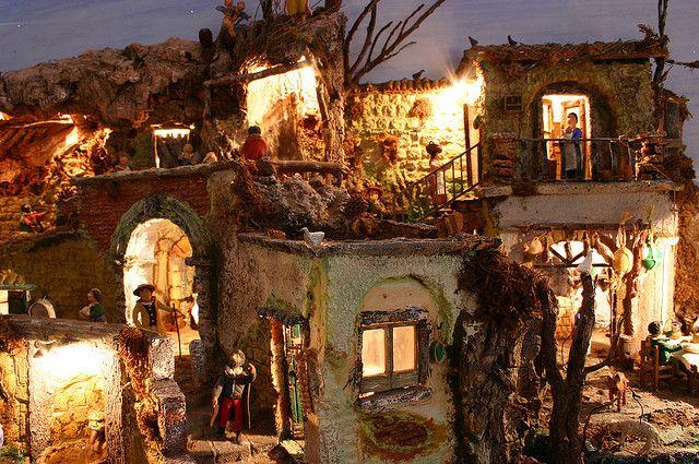 Neapolitan Christmas Crib - Panorama * Presepe