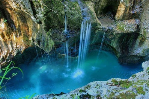 Google+  Places to See in Your Lifetime  16:00  -  Public  Triglav National Park near the town of Bovec in Slovenia. Looks like Peter Pan's Neverland :)